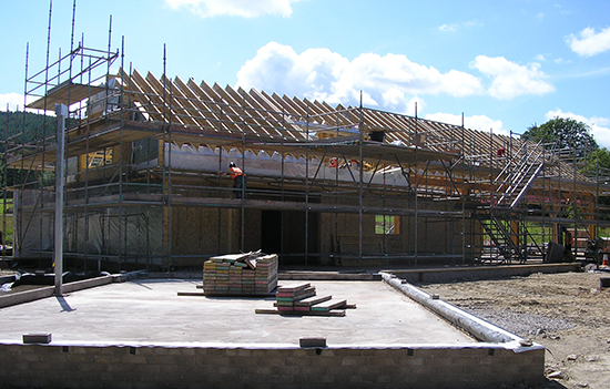 Loch Arthur Camphill Community, Our Development, Building