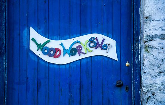 Loch Arthur, Camphill Community, Wood Workshop