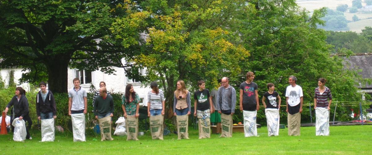 loch-arthur-camphill-community-cultural-sack-race