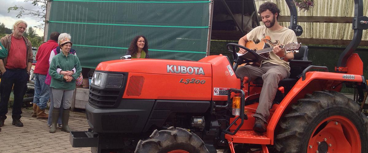 loch-arthur-camphill-community-cultural-tractor-singing