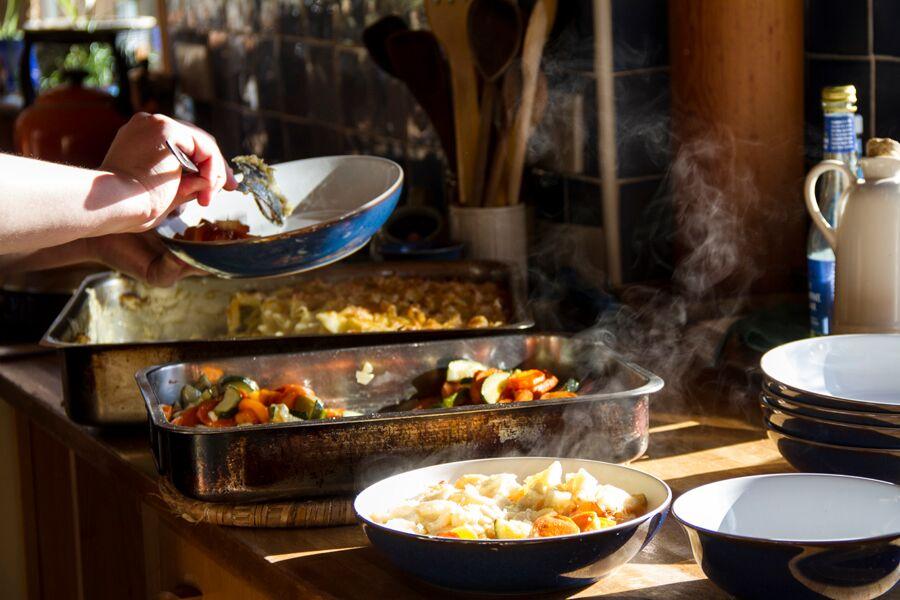 Food at Loch Arthur